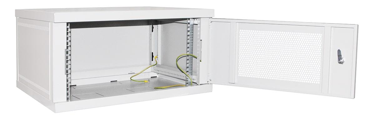 Настенные шкафы телекоммуникационные с перфорацией